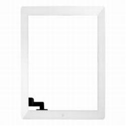 Vitre tactile blanc avec le bouton home pour ipad 2