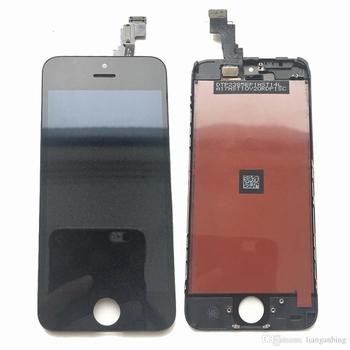 Vitre tactile noir avec écran lcd pour iPhone 5c