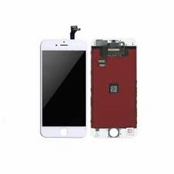 Vitre tactile blanc avec écran LCD pour iPhone 6 plus
