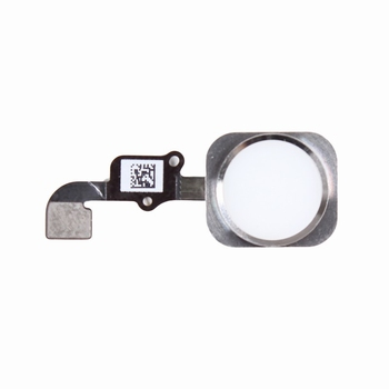 Nappe avec bouton home couleur blanc  pour iPhone 6S et 6S+