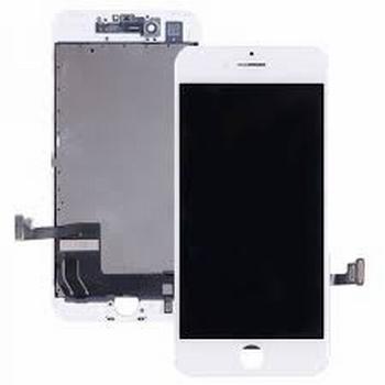 Vitre tactile blanc avec écran LCD pour iPhone 7 Plus