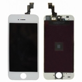 Vitre tactile blanche+écran lcd pour iPhone 5S / SE