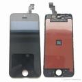 Vitre tactile noire + écran lcd pour iPhone 5c