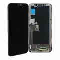 Vitre tactile noir avec écran OLED pour iPhone X